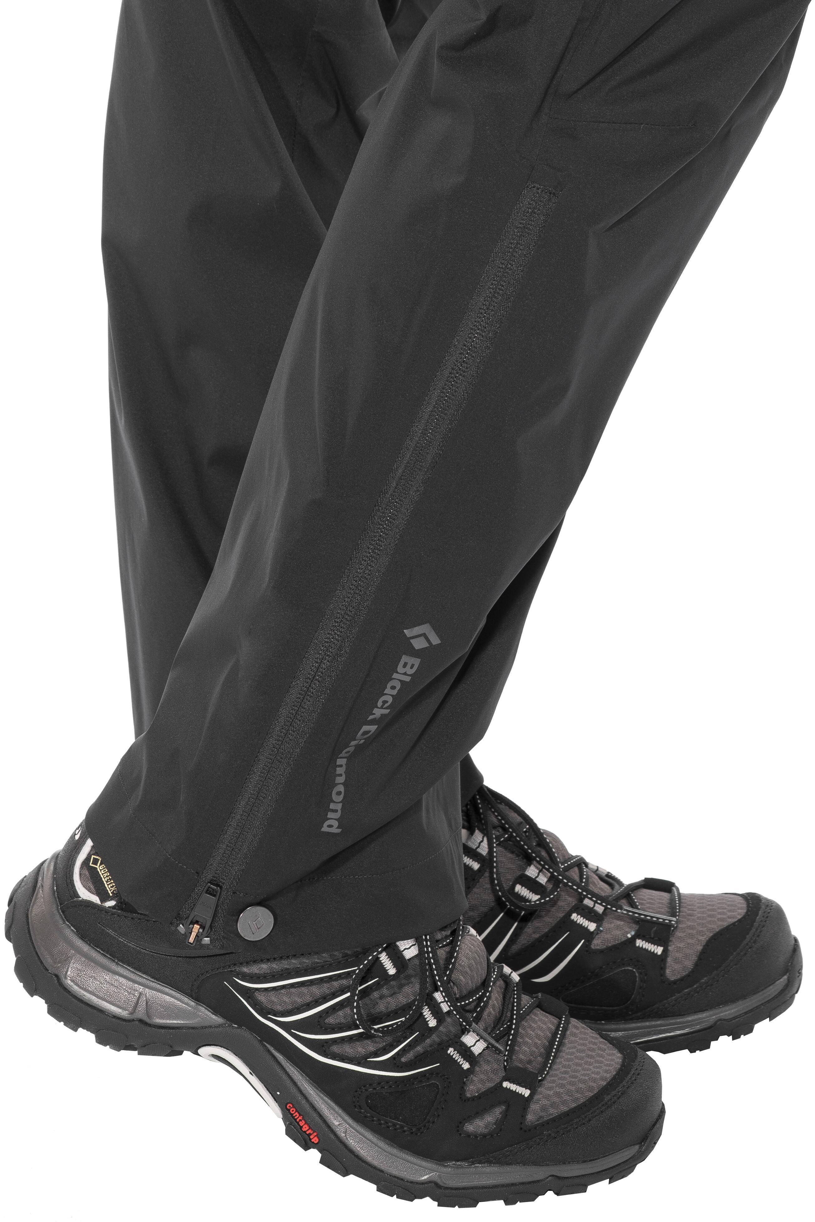 6de71c441ff Black Diamond Stormline Pants Women black at Addnature.co.uk